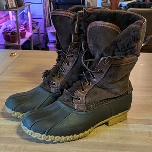 L.L. Bean Wicked Good Boots size 8